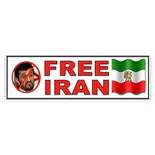 FREE IRAN NOW Bumper Sticker