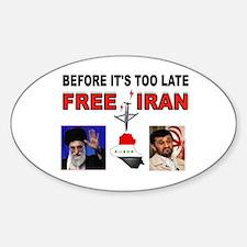 FREE IRAN NOW Decal