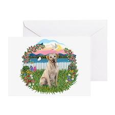 Garden-Shore -Lab (Y7) Greeting Card