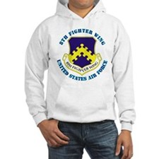 8th Fighter Wing with Text Hoodie