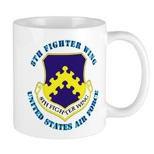 8th Fighter Wing with Text Mug