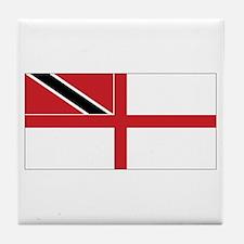 TNT Naval Ensign Tile Coaster