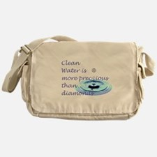 Cute Health promotion Messenger Bag