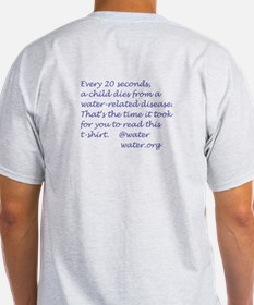 Clean_water_wht_backgrnd T-Shirt