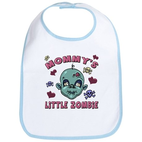 Mommy's Zombaby Girl Bib