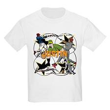 Custom Baseball Name T-Shirt