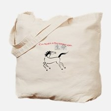 Chi Moves Mysterious Horse Tote Bag