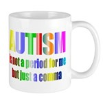 Autism is not a period Mug