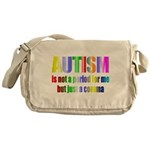 Autism is not a period Messenger Bag