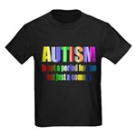 Autism is not a period Kids Dark T-Shirt