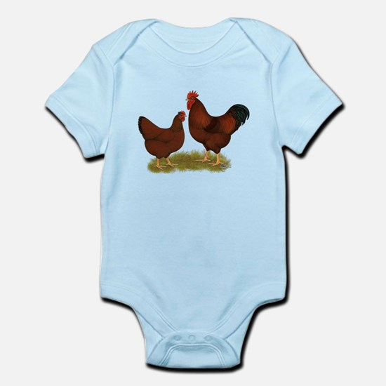 New Hampshire Chickens Infant Bodysuit
