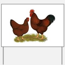 New Hampshire Chickens Yard Sign
