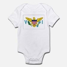 USVI Flag Infant Bodysuit
