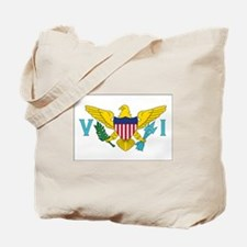 USVI Flag Tote Bag