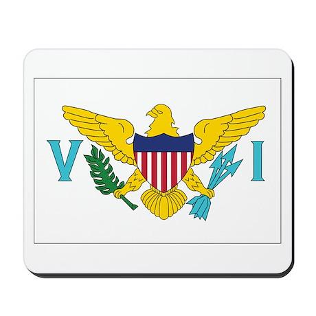 USVI Flag Mousepad