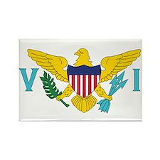 USVI Flag Rectangle Magnet