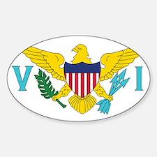 USVI Flag Decal
