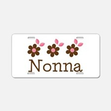 Nonna Gift Aluminum License Plate