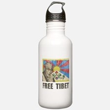 Dalai Lama Free Tibet Water Bottle