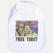 Dalai Lama Free Tibet Bib
