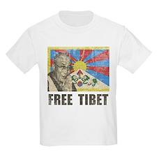 Dalai Lama Free Tibet T-Shirt