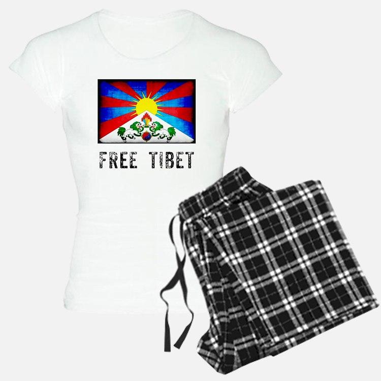 Free Tibet Pajamas