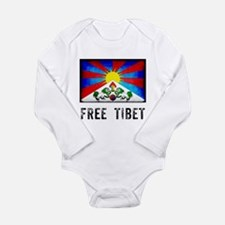 Free Tibet Long Sleeve Infant Bodysuit