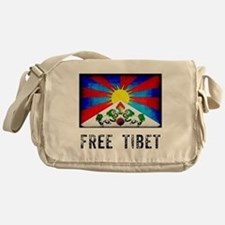 Free Tibet Messenger Bag