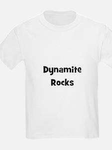 Dynamite Rocks Kids T-Shirt