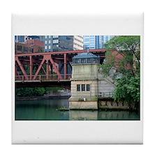 Chicago Treasures Tile Coaster