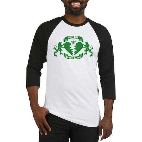 DDD Baseball Jersey - Green Logo
