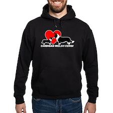 Cardigan Love Hoodie