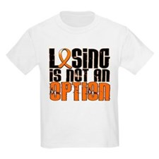 Losing Is Not An Option Leukemia T-Shirt