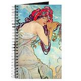 Alphonse mucha Journals & Spiral Notebooks