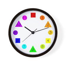 Funny Secondary colors Wall Clock