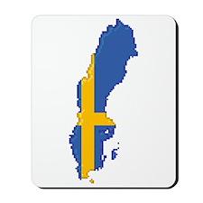 """Pixel Sweden"" Mousepad"