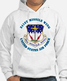 341st Missile Wing with Text Hoodie