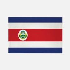 Costa Rica Flag Rectangle Magnet