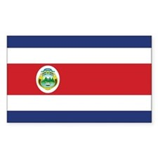 Costa Rica Flag Decal