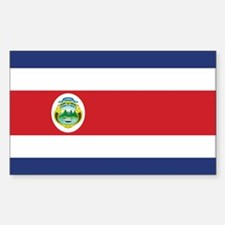 Costa Rica Flag Decal