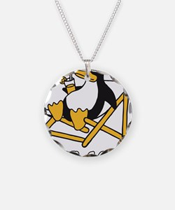 Cute Penguins are cool Necklace