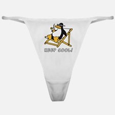 Cute Penguins are cool Classic Thong