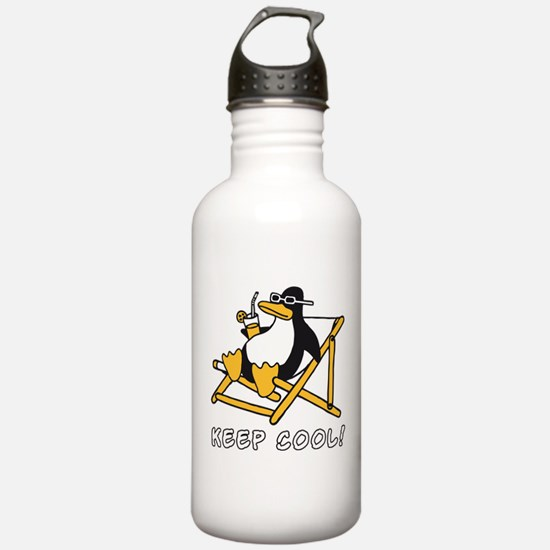Cute Penguins are cool Water Bottle
