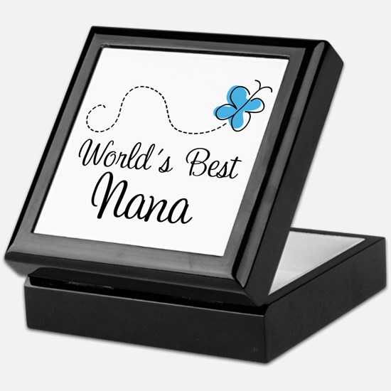 Nana (World's Best) Keepsake Box