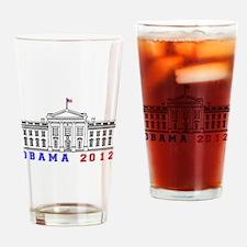 Obama 2012 Election Commemorative Drinking Glass