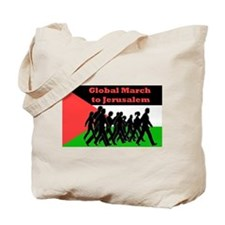 Global March to Jerusalem Tote Bag