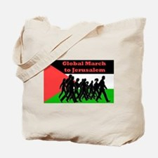 Global March to Jerusalem Tote Bag