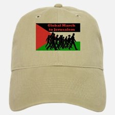 Global March to Jerusalem Baseball Baseball Cap