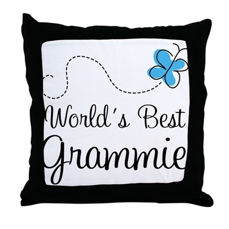 Grammie (World's Best) Throw Pillow