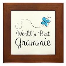 Grammie (World's Best) Framed Tile